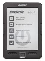 Электронная книга Digma E634 черная